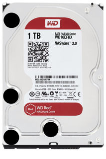Slika WD HDD 1TB SATA3 64MB Red