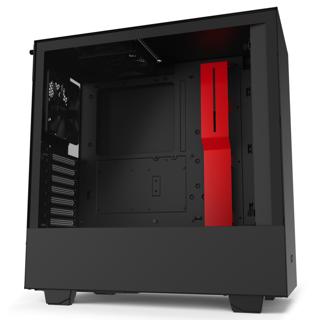 Slika NZXT CASE H510 BLACK/RED