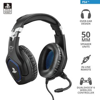 Slika Trust GXT488 PS4 slušalice crn