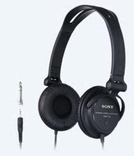 Slika Sony slušalice MDRV150 crne