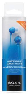 Slika Sony slušalice EX15 plave