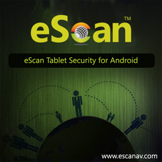 Slika eScan tab.Security for Android