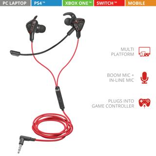 Slika Trust GXT408 COBRA GAM headset