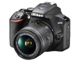 Slika Nikon digitalni fotoaparat D3500 sa 18-55mm AF-P VR crni