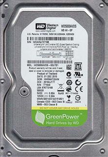 Slika WD HDD 500GB SATA2 32MB Pull