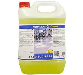 Slika HIG Koncentrat univerzalno tečno sredstvo za čišćenje podova AQUAGEN G lemon 5 litara