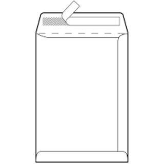 Slika Koverta 23*33 C4 strip Bijela (vrećica), 100gr, 25/1