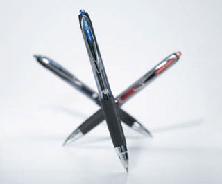 Slika Hemijska olovka uni-ball roler UMN 207 crvena 0,5mm